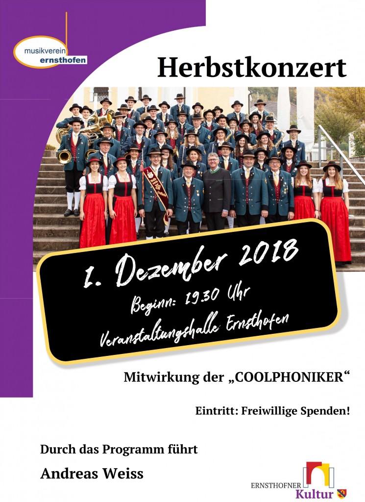 Plakat Herbstkonzert1