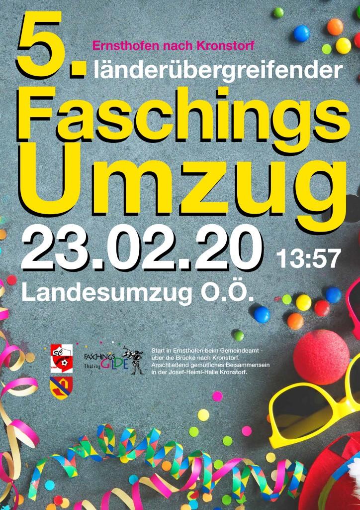Faschingsumzug Ernsthofen/Kronstorf 2020